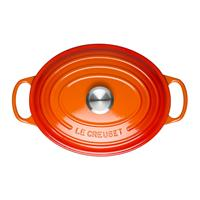 Le Creuset Signature Bräter oval 35 cm ofenrot