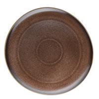 Rosenthal Junto Shiny Bronze Teller flach 22 cm Frühstücksteller