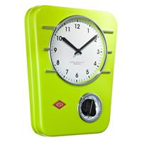 Wesco Classic Line Küchenuhr Limegreen