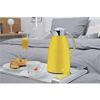 alfi Isolierkanne Gusto 1 ltr.gelb sun yellow Schnellgießverschluss verchromt