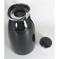 alfi Isolierkanne Gusto 1 ltr. schwarz Schnellgießverschluss verchromt