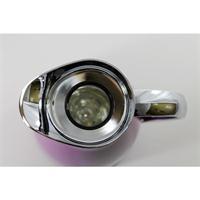 alfi Isolierkanne Senso 0,65 ltr. cool cassis 4 Tassen Einhand Augießer Metall