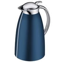 alfi Isolierkanne Gusto 1 Liter saphirblau NEU zerlegbarer Deckel