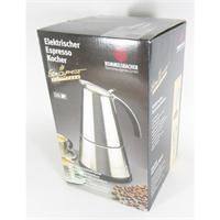 Rommelsbacher Espresso Kocher EKO 366/E ElPresso de luxe Espressomaschine