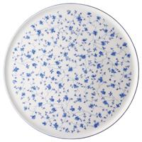 Arzberg Form 1382 Blaublüten Tortenplatte 32 cm Platte rund