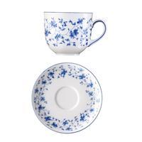 Arzberg Form 1382 Blaublüten Kaffeetasse 2 teilig 0,18 L Tasse