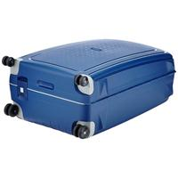 Samsonite S'Cure Trolley 75 blau 4 Rollen Spinner Koffer Hartschale dark blue