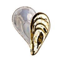 Rosenthal Salz-Auster Gold titanisiert Dose