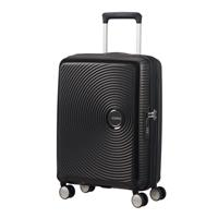 American Tourister Soundbox Spinner 55/20 Bass Black erweiterbar