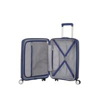 American Tourister Soundbox Spinner 55/20 Midnight Navy erweiterbar