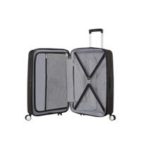 American Tourister Soundbox Spinner 67/24  Bass Black erweiterbar