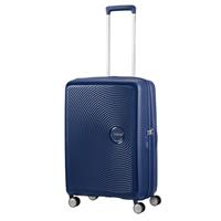 American Tourister Soundbox Spinner 67/24  Midnight Navy erweiterbar