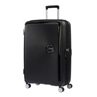 American Tourister Soundbox Spinner 77/28 Bass Black erweiterbar