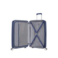American Tourister Soundbox Spinner 77/28 Midnight Navy erweiterbar