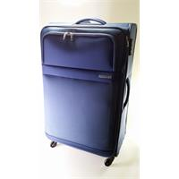 American Tourister Trainy Spinner 77/28 expandable cool blue Trolley erweiterbar blau TSA Schloss Po