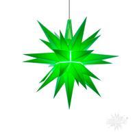 Herrnhuter A1E Stern Kunststoff 13 cm grün mit LED für innen A 1 E