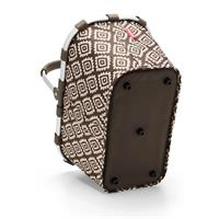 reisenthel carrybag diamonds mocha BK6039