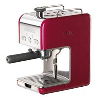 Kenwood kMix Espressomaschine ES021 rot  k-Mix Siebträger Kaffeemaschine