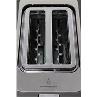 Krups Toaster KH442 Control Line 2 Scheiben Brötchenaufsatz KH 442 Edelstahl