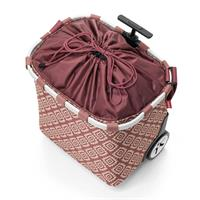 reisenthel carrycruiser diamonds rouge OE3065