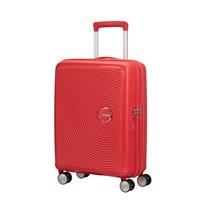 American Tourister Soundbox Spinner 55/20 Coral Red erweiterbar