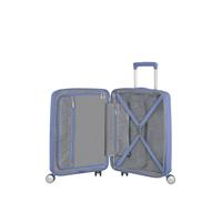 American Tourister Soundbox Spinner 55/20 Denim Blue erweiterbar