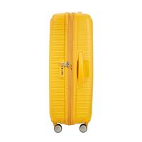 American Tourister Soundbox Spinner 55/20 Golden Yellow erweiterbar