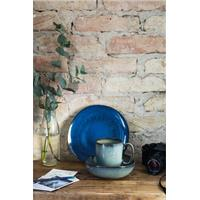 like by V&B Pottery Lave Bleu Becher mit Henkel