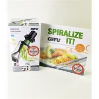 Gefu Spirelli Spiralschneider XL mit Kochbuch