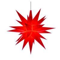 Herrnhuter A1E Stern Kunststoff rot 13 cm mit LED