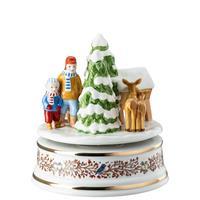 Hutschenreuther Weihnachten limitiert Spieluhr groß XXL Weihnachtsgaben 2021 Geschenkkarton