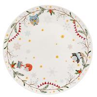 Hutschenreuther Schneeflöckchen Weißröckchen Teller flach 22 cm