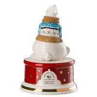 Hutschenreuther Schneeflöckchen Weißröckchen Spieluhr klein Lieduhr Porzellan