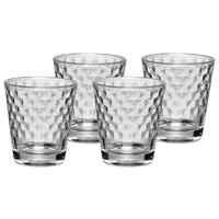 WMF Honeycomb Design Set 4 Tumbler Whiskyglas Wasserglas Whiskey
