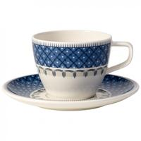 V&B Casale Blu Kaffeetasse 2 tlg. NEU