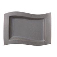 NEU V&B New Wave Stone Gourmetteller 33x24 cm