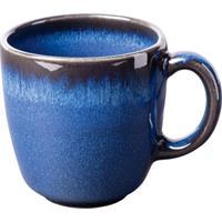 like by V&B Pottery Lave Bleu Kaffeeobertasse 0,19L Kaffee Obere Steingut blau