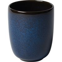like by V&B Pottery Lave Bleu Becher ohne Henkel 0,4 Liter