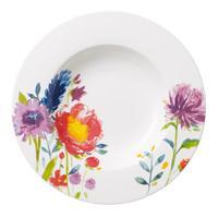 V&B Anmut Flowers Suppenteller 24 cm Teller tief