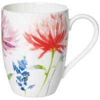 V&B Anmut Flowers Becher mit Henkel 0,35 l.Henkelbecher