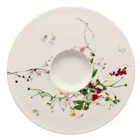 Rosenthal Brilliance Fleurs Sauvages Kombi-Untertasse 16 cm Cappuccino / Tee-untertasse