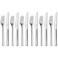 WMF Stratic Protect Dessertbesteckset 12 tlg.Vorspeisenbesteck Messer und Gabel