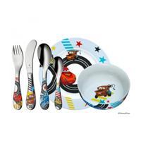 WMF Kinder Set 6 tlg. Cars 2 Walt Disney Autos Besteck Geschirr Spülmaschine
