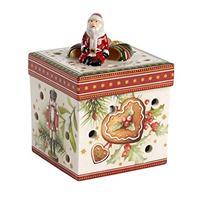 V&B Christmas Toy's Geschenkpaket klein eckig Weihnachtsmarkt Windlicht