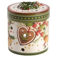V&B Christmas Toy's Paket klein rund Weihnachtsmarkt Teelicht