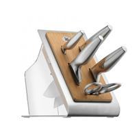 WMF Chefs Edition Messerblock 6tlg bestückt PC