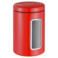 Wesco Classic Line Vorratsdose mit Sichtfenster rot