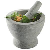 Gefu Crunchy Granitmörser 17 cm mit Mulde zur Proportionierung