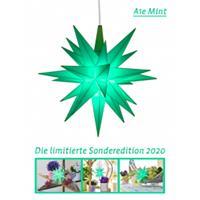 Herrnhuter A1E Jahresstern 2020 mint Kunststoff 13 cm Stern Weihnachtsstern