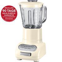 KitchenAid Artisan Standmixer creme 5KSB5553EAC 90 Tage Geld-Zurück-Garantie